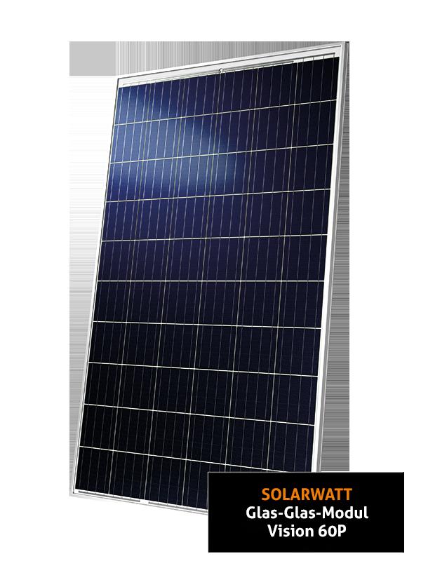 Solarwatt Vision 60P Glas-Glas ZSD Solar