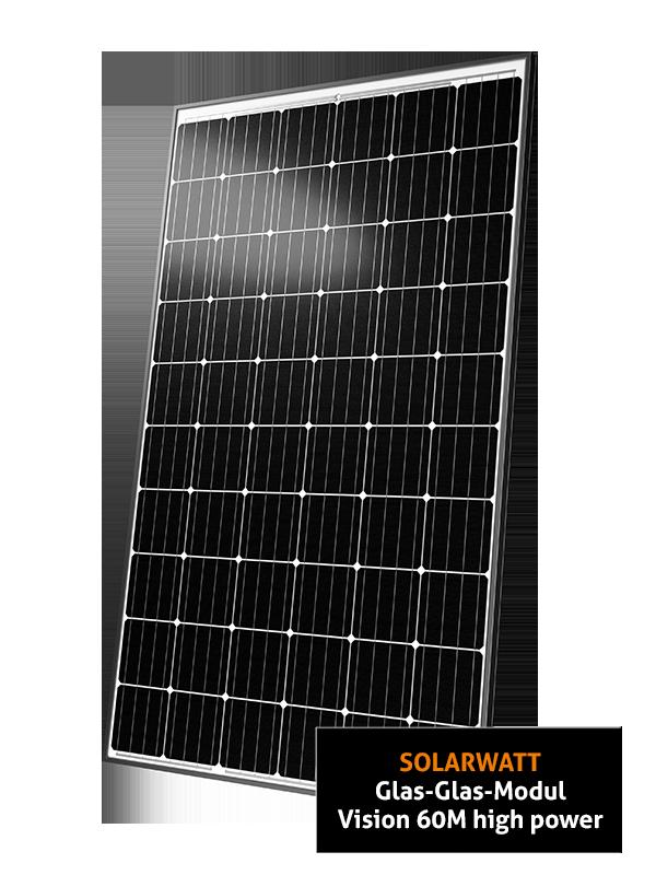 Solarwatt Vision 60M High Power Glas-Glas ZSD Solar