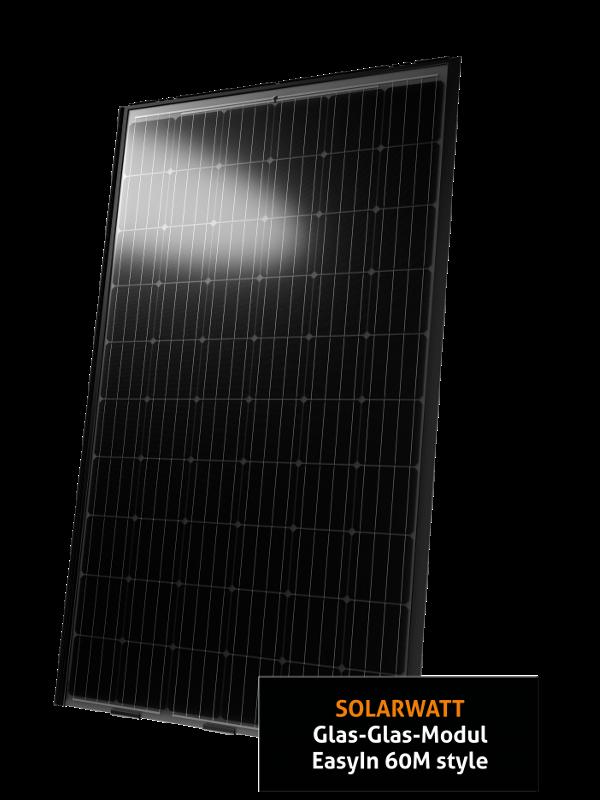 Solarwatt EasyIn 60M Style Glas-Glas ZSD Solar