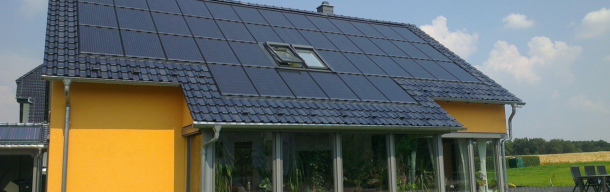 Photovoltaikanlagen Eigenheim