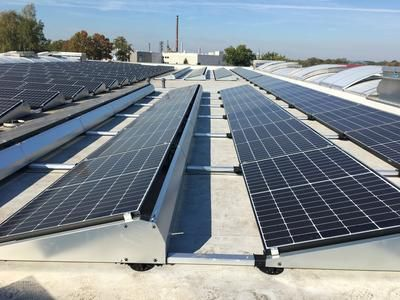ZSD Solar ESDEC Flachdach FlatFixFusion