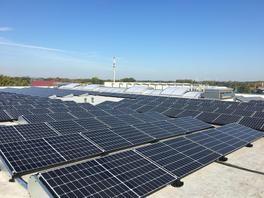85-kWp-Anlage mit Q-Cells Q.Peak Duo 320 Wp